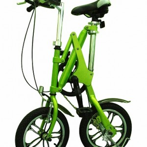 Single-speed-manual-folding-bike